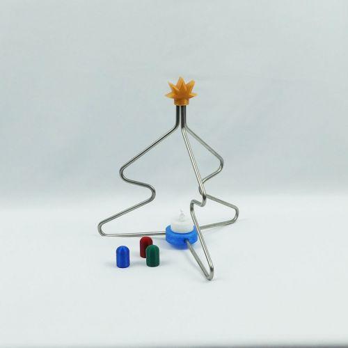 Weihnachtsbaum aus Edelstahl klein